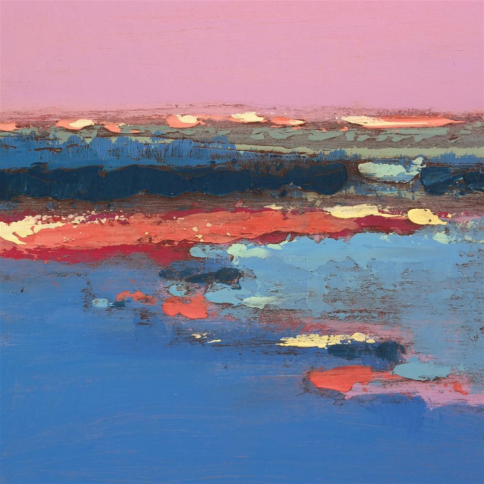 """Landscape 253"" original fine art by Ewa Kunicka"