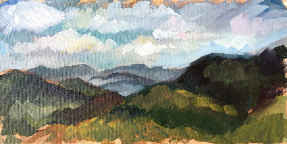 """Blue Ridge Parkway"" original fine art by Jayne Morgan"