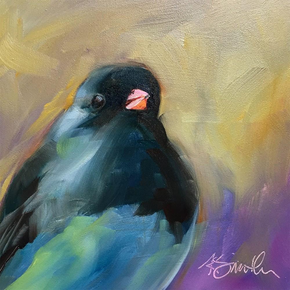 """""""junco"""" original fine art by Kim Smith"""