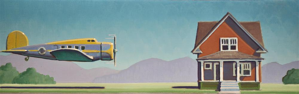 """Breezy"" original fine art by Robert LaDuke"