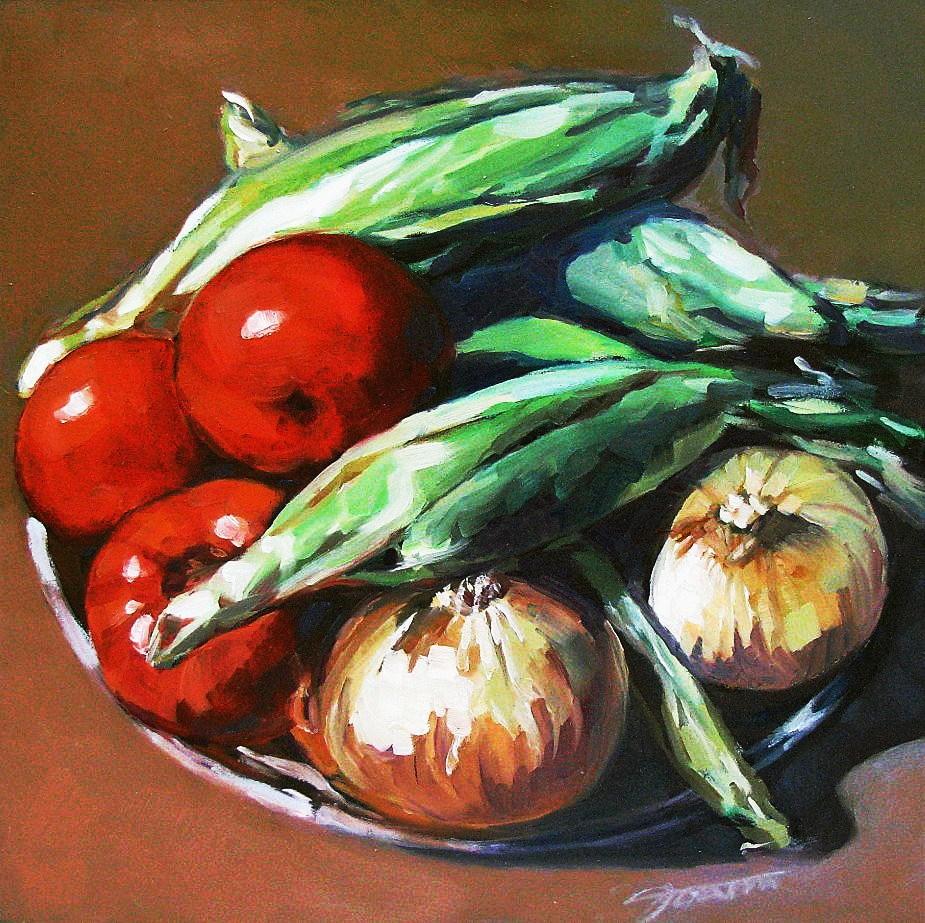 """Taste of Summer"" original fine art by Joanna Bingham"