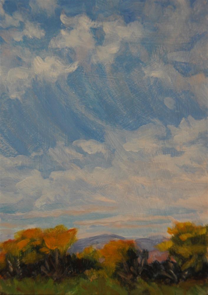 """""""Swoop"""" original fine art by Gary Alsum"""