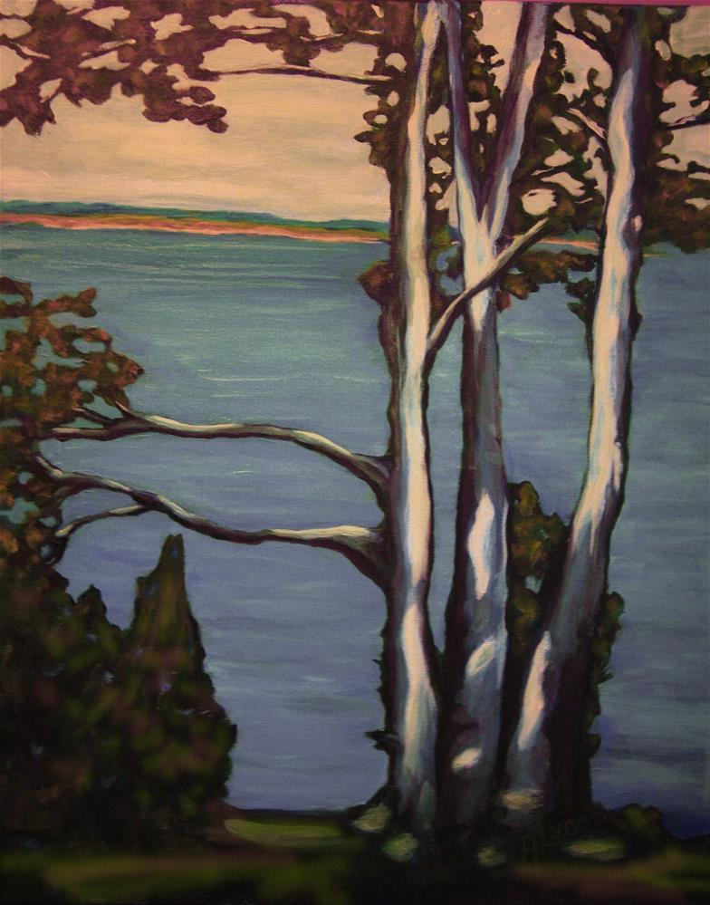 """Thetis View"" original fine art by Amanda Stacey"
