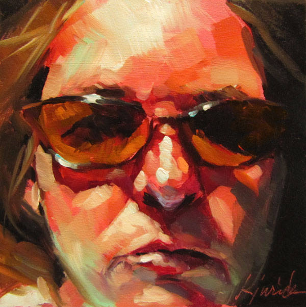 """Cheap Sunglasses"" original fine art by Karin Jurick"