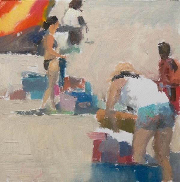 """Sand Storm"" original fine art by Randall Cogburn"