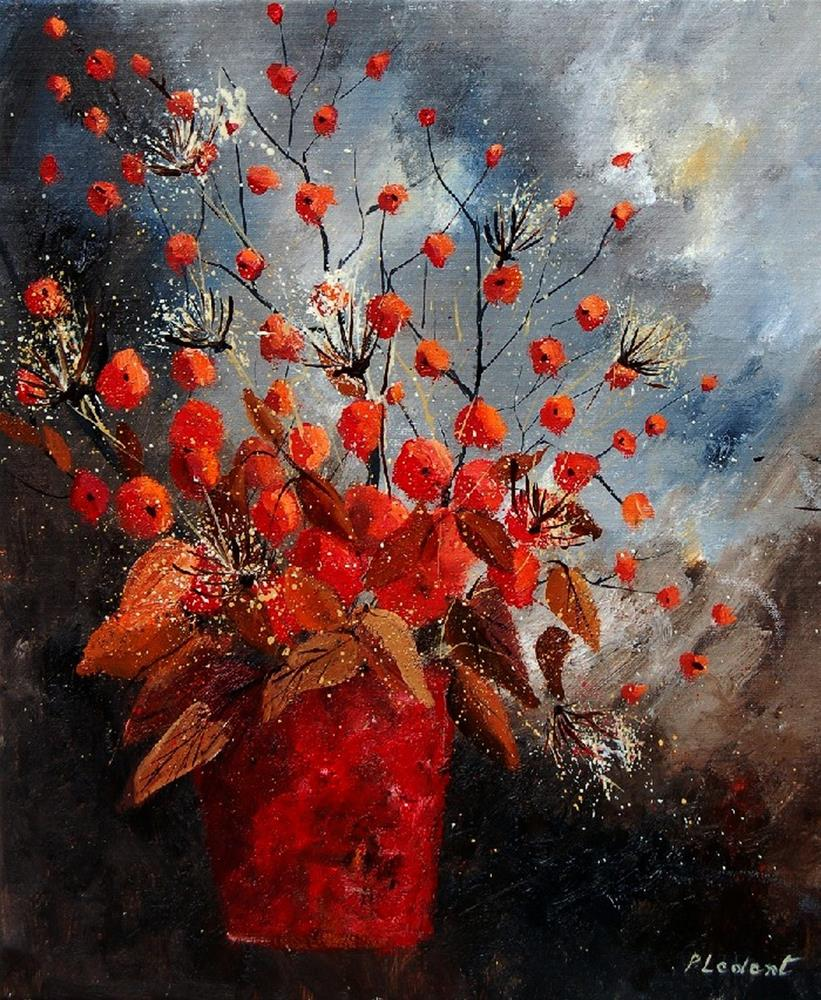 """still life 560608"" original fine art by Pol Ledent"
