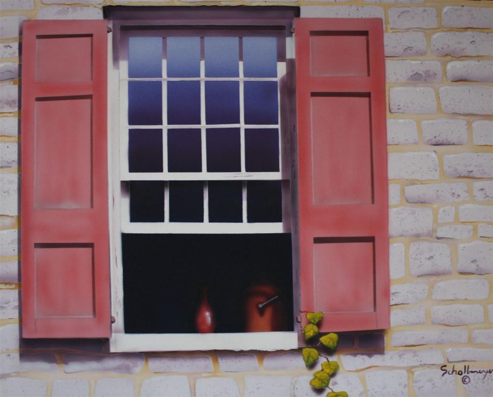 """""""West Window (Mid Day)"""" original fine art by Fred Schollmeyer"""