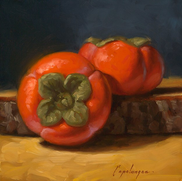 """Orange, But Not An Orange"" original fine art by David Capalungan"