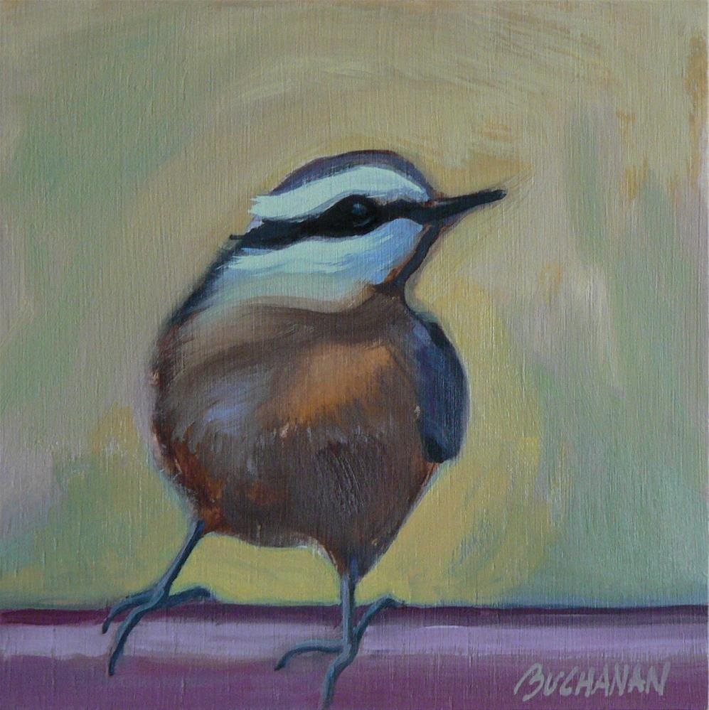 """A Fine Fellow"" original fine art by Leigh Buchanan"