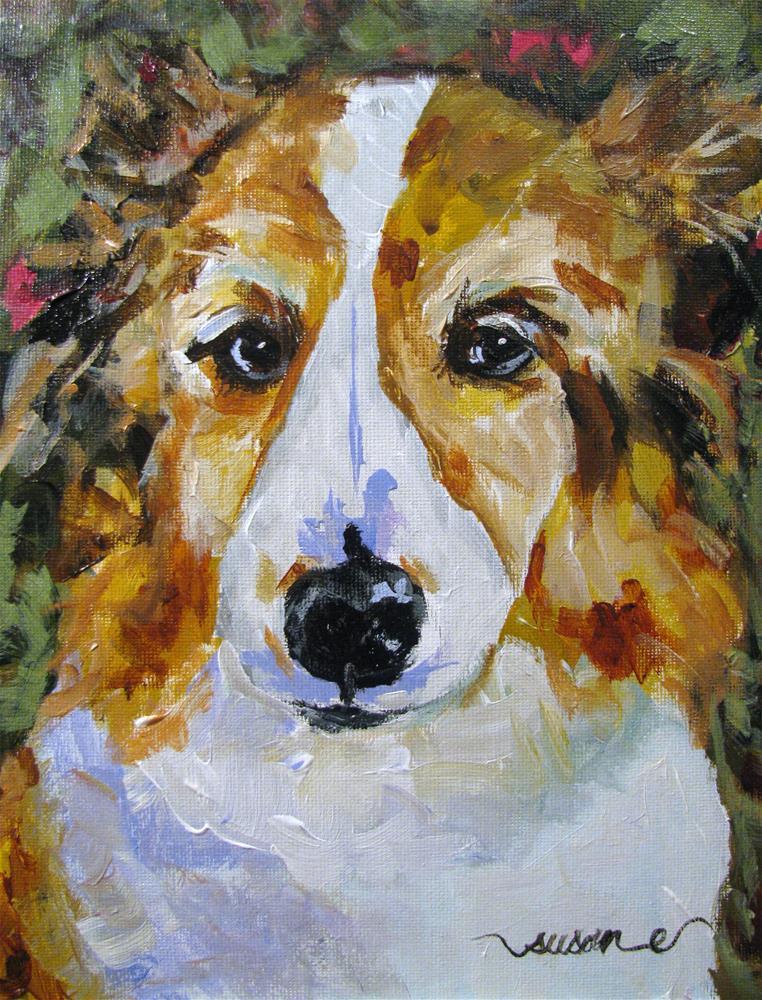 """Gizmo"" original fine art by Susan Elizabeth Jones"