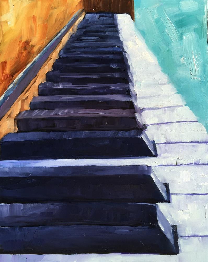 """Keys"" original fine art by Hallie Kohn"