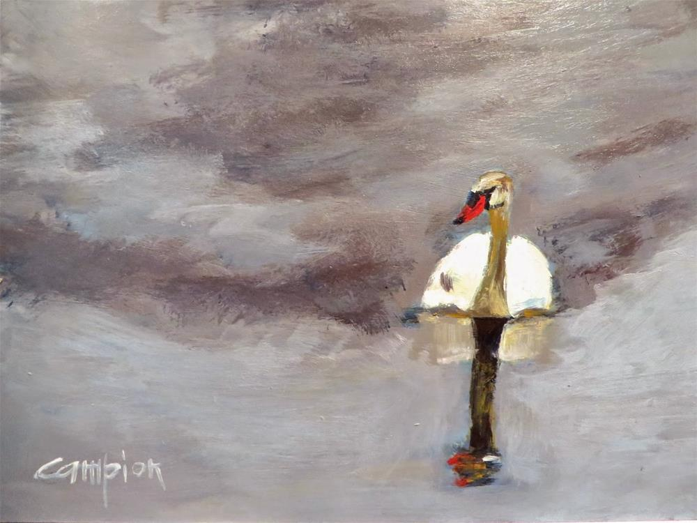 """578 Solitude"" original fine art by Diane Campion"
