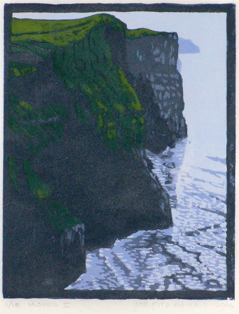 """""""Moher II"""" original fine art by Joe Fitzgerald"""