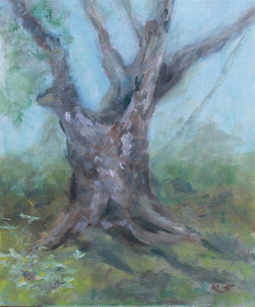 """Shadows on the Teche"" original fine art by Karen Solorzano"