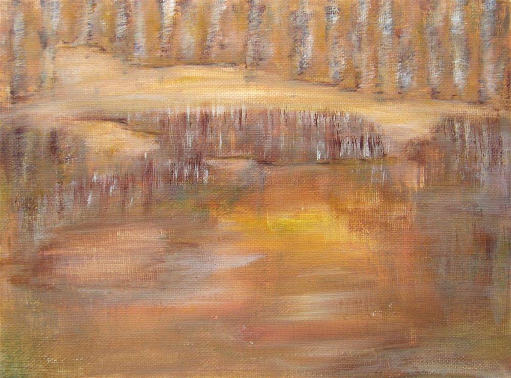 """Hidden Place"" original fine art by Alina Frent"
