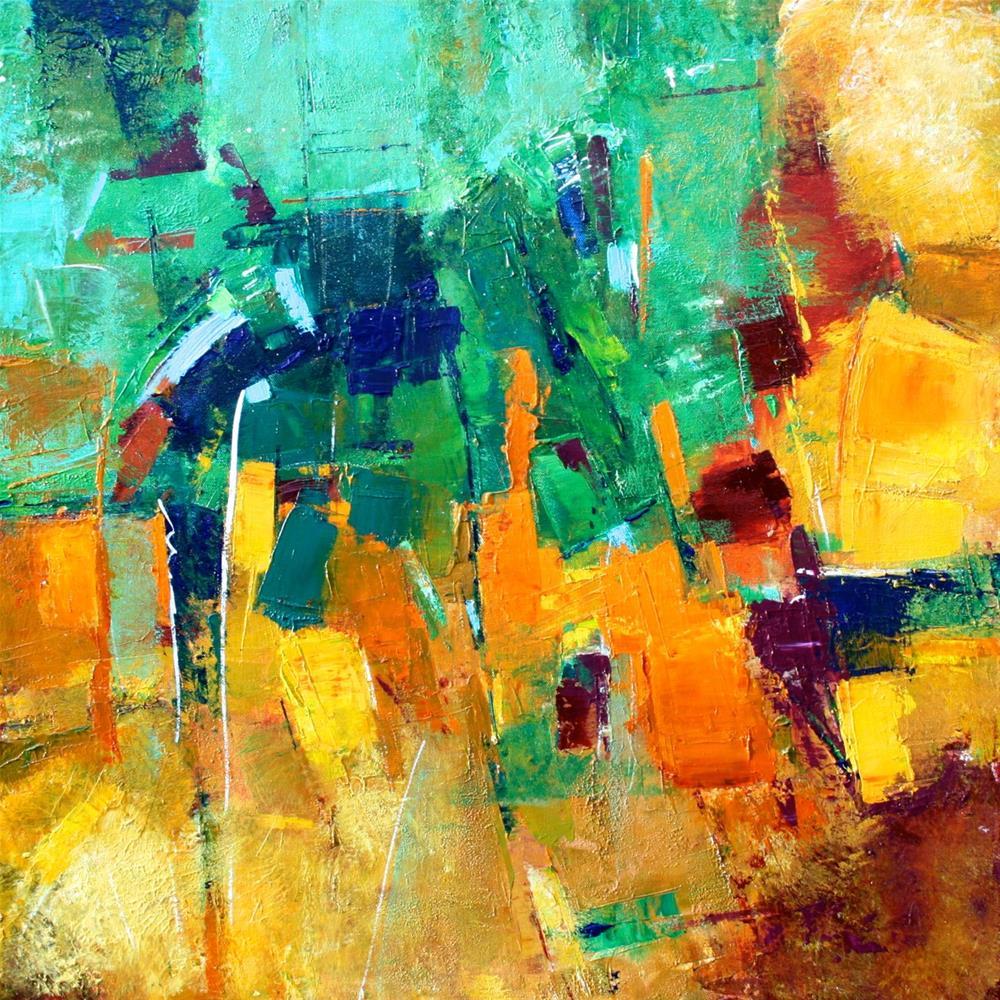 """""""Terrace"""" original fine art by Elizabeth Chapman"""