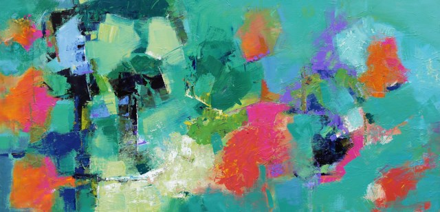 """Tantalize"" original fine art by Elizabeth Chapman"