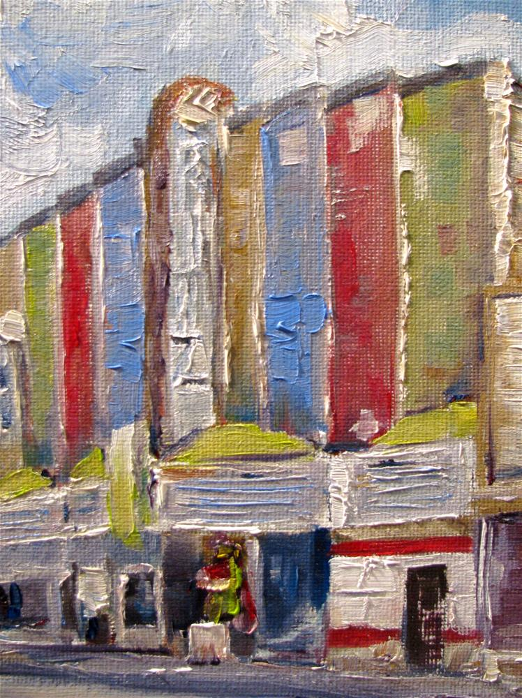"""Puttin' on the Ritz"" original fine art by Susan Elizabeth Jones"