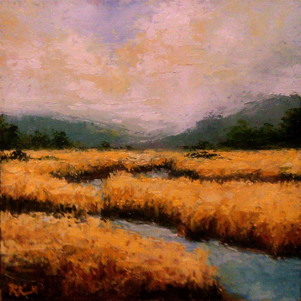 """Eastern Marshes"" original fine art by Bob Kimball"