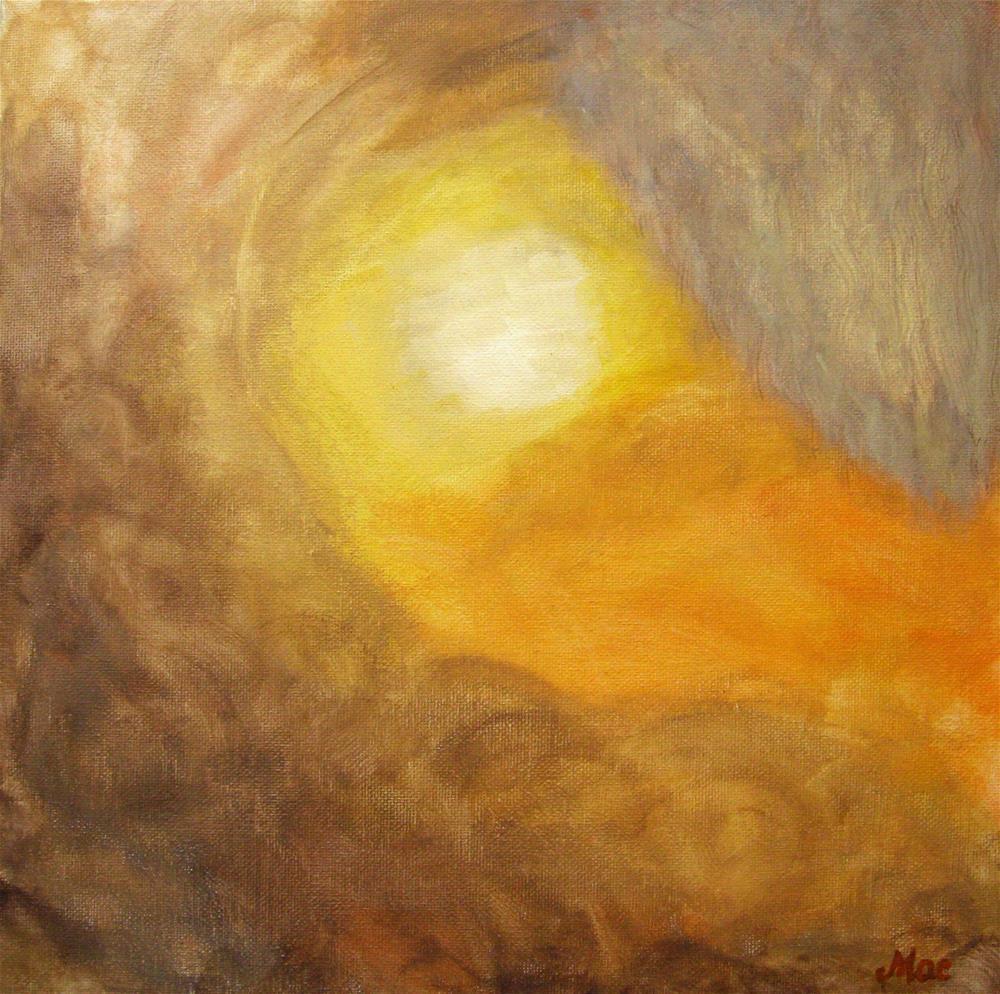 """Sunny Morning"" original fine art by Alina Frent"