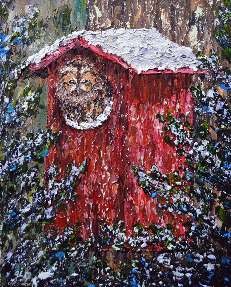 """Tawny Winter"" original fine art by Gloria Ester"