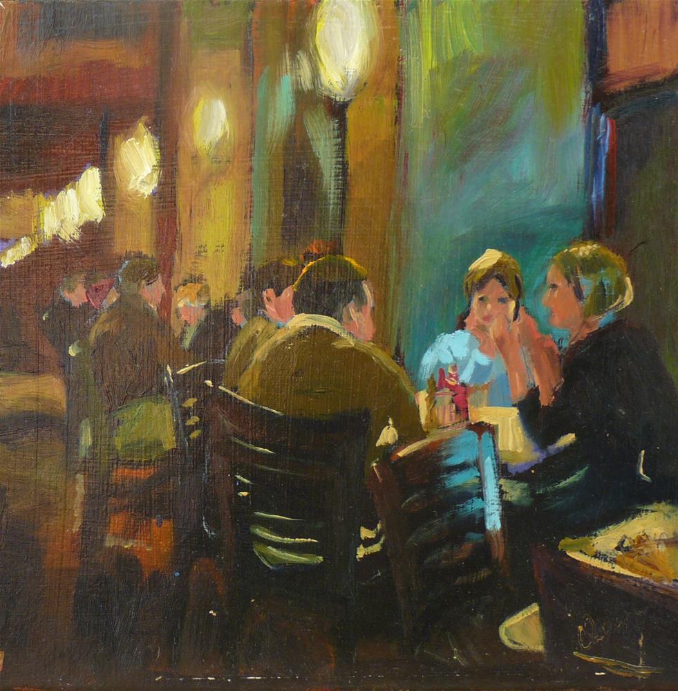 """Full House"" original fine art by Sharman Owings"