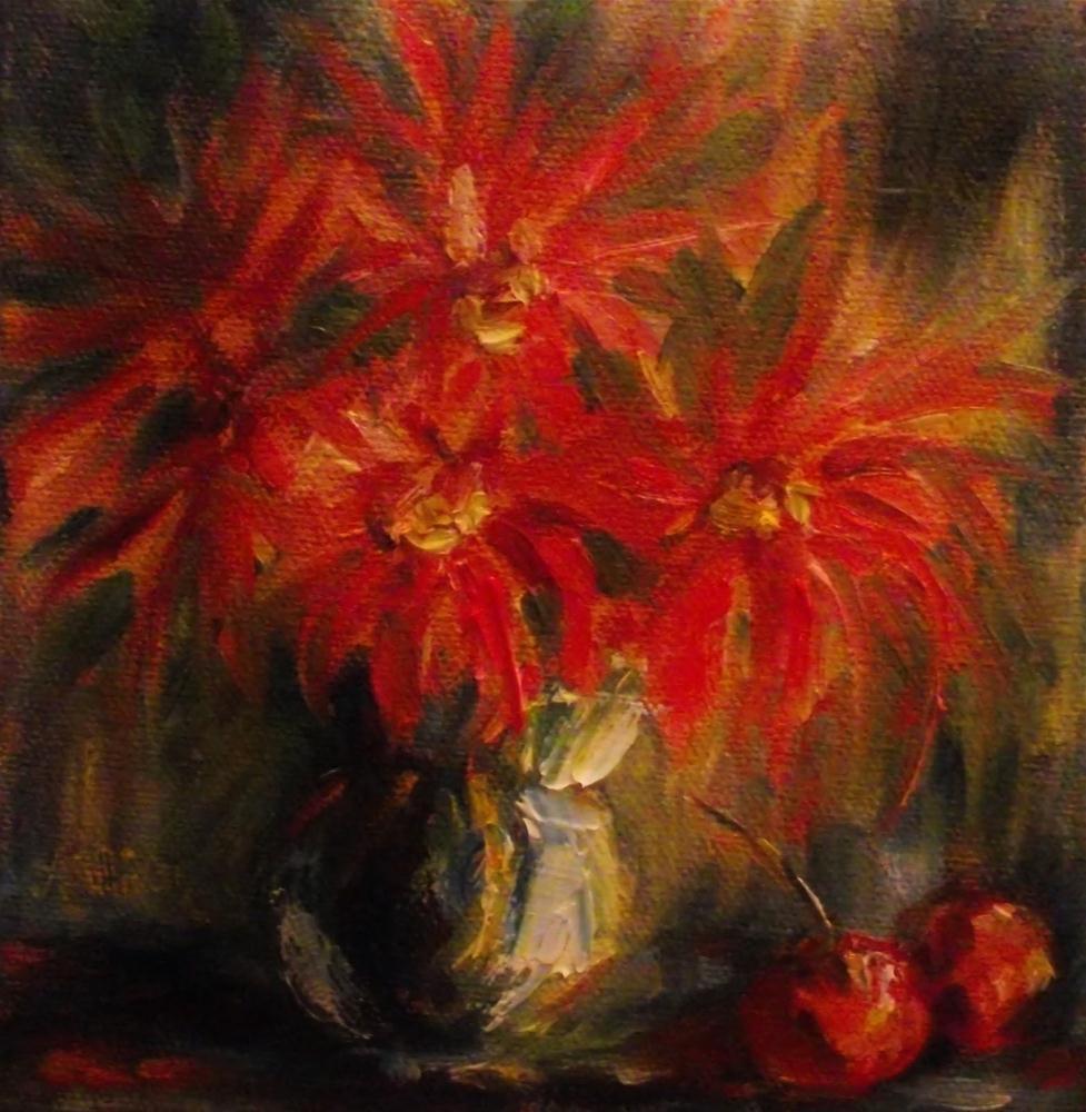 """And Cherries Two"" original fine art by Angela Sullivan"