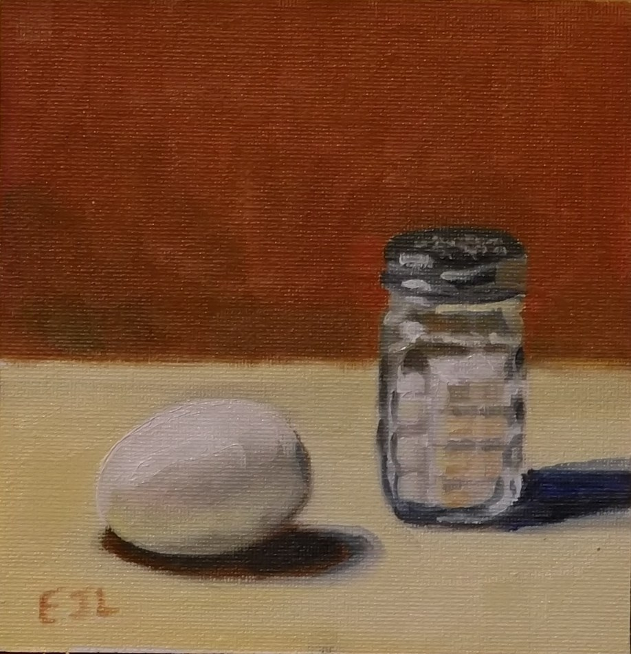 """Hard Boiled"" original fine art by Eric Larson"