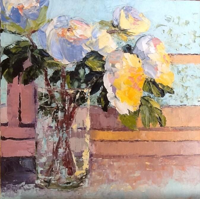 """Abundance"" original fine art by Elaine Ford"