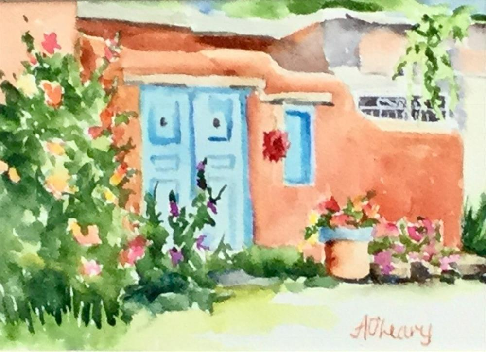 """""""Decorated Entry"""" original fine art by Alice O'Leary"""