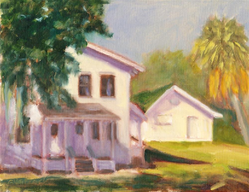"""Keith Farmhouse"" original fine art by Sharon Yarbrough"