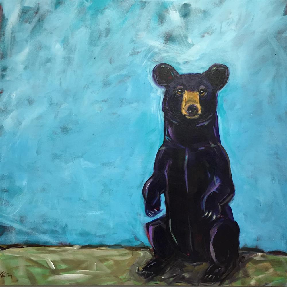 """""""Reba"""" original fine art by Kandice Keith"""