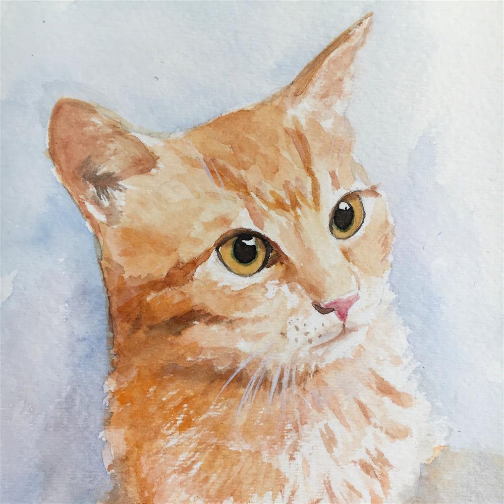 """Redhead"" original fine art by Anna Starkova"