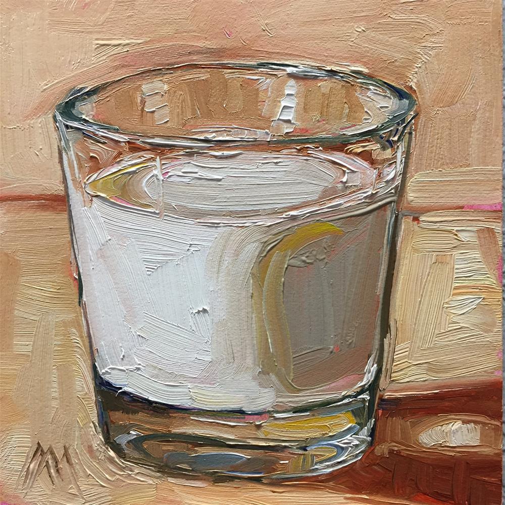 """Milk"" original fine art by Austin Maloney"