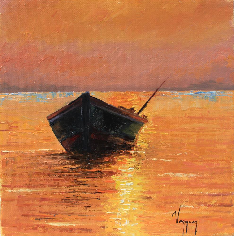 """Sunset "" original fine art by Marco Vazquez"