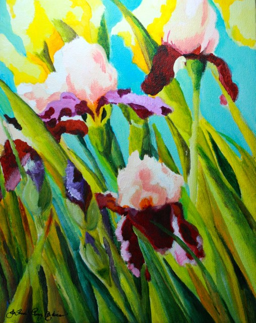 """Good Morning May"" original fine art by JoAnne Perez Robinson"
