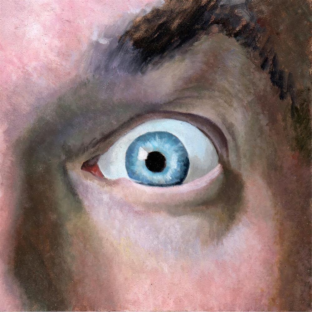 """#335 Up Close"" original fine art by Brian Burt"