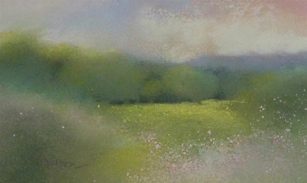 """Treeline"" original fine art by Barbara Benedetti Newton"