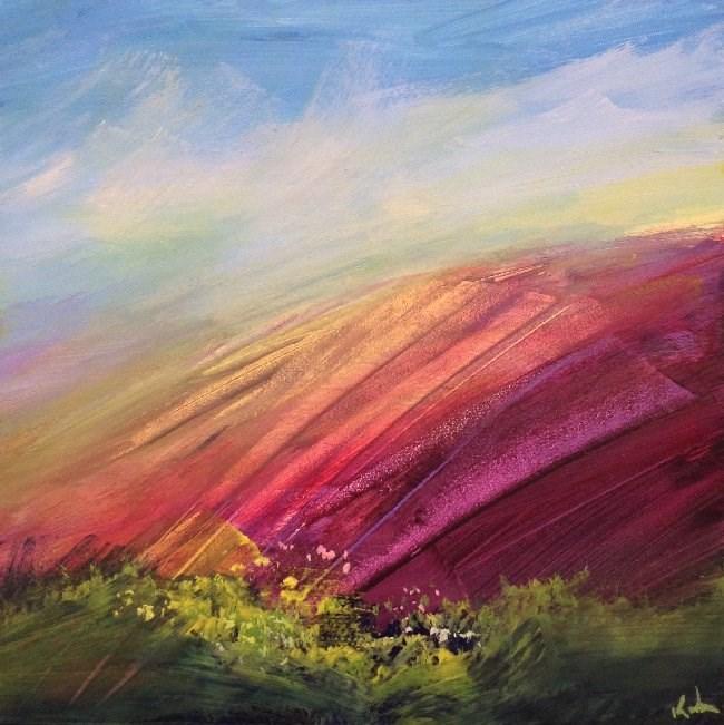 """Of Earthly Things"" original fine art by David Kuhn"