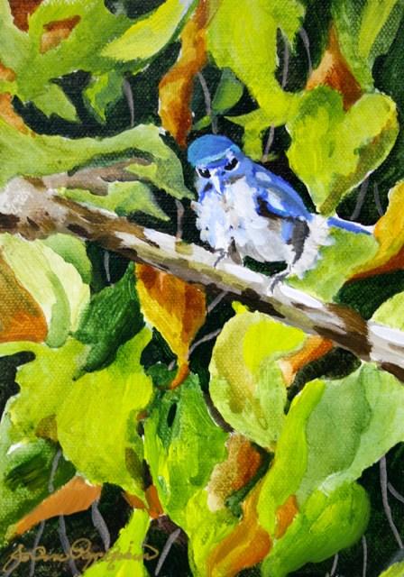 """Blue Boy"" original fine art by JoAnne Perez Robinson"