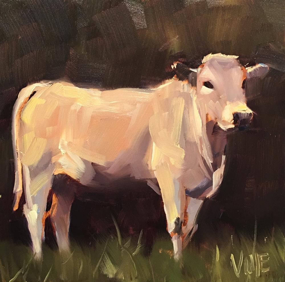 """""""#466 Fred"""" original fine art by Patty Voje"""
