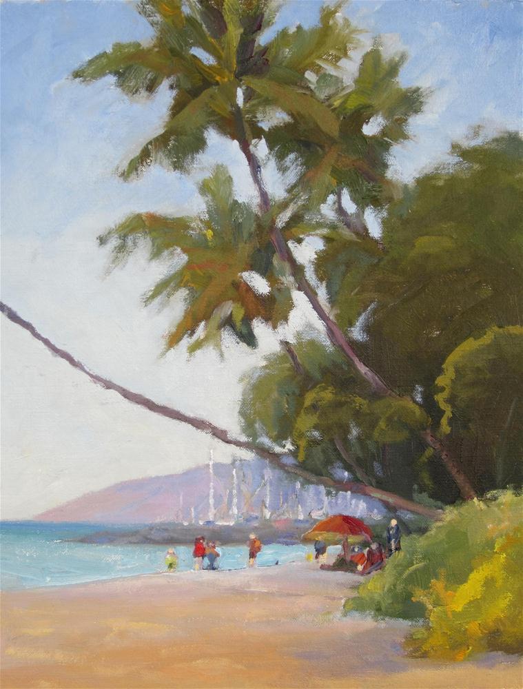 """Aloha lahaina"" original fine art by Leigh Alexandra Sparks"