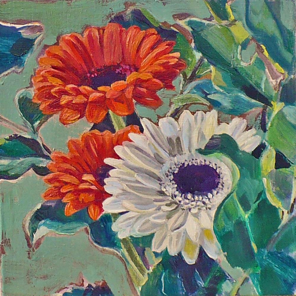 """""""Trio"""" original fine art by Nicoletta Baumeister"""