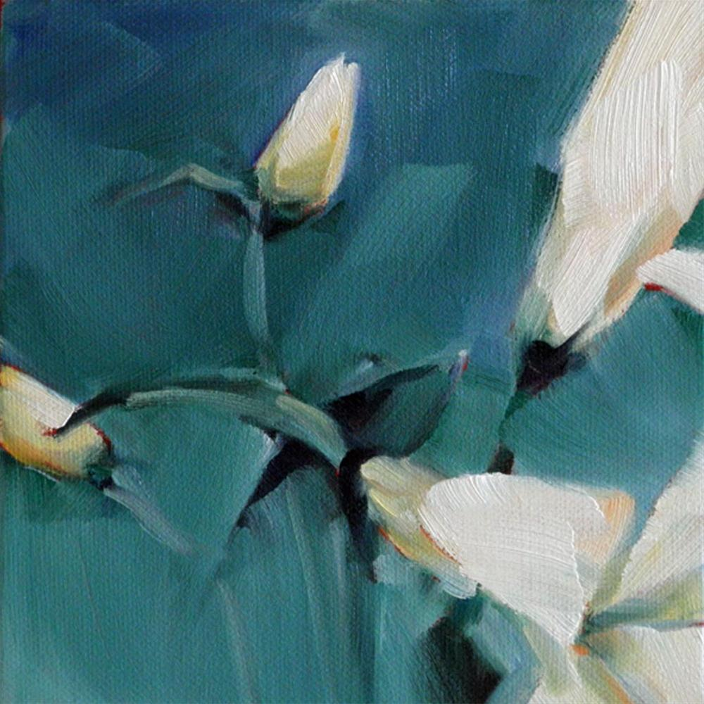 """Flowers #3 Easter Challenge"" original fine art by Cheryl Wilson"