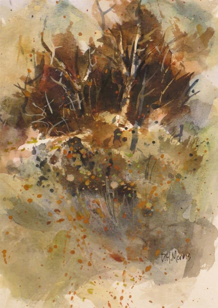 """The Brown Thicket"" original fine art by Dann Morris"