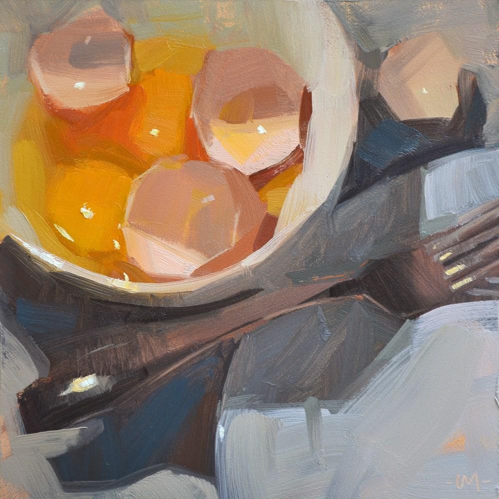 """Egg-tastic"" original fine art by Carol Marine"