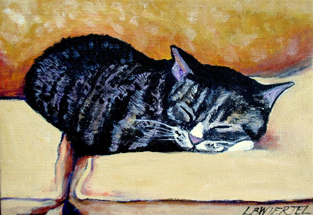 """Izzy"" original fine art by Lisa Wiertel"