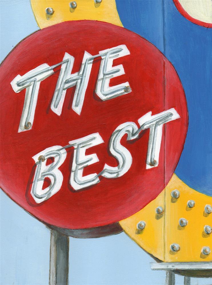 """The Best"" original fine art by Debbie Shirley"
