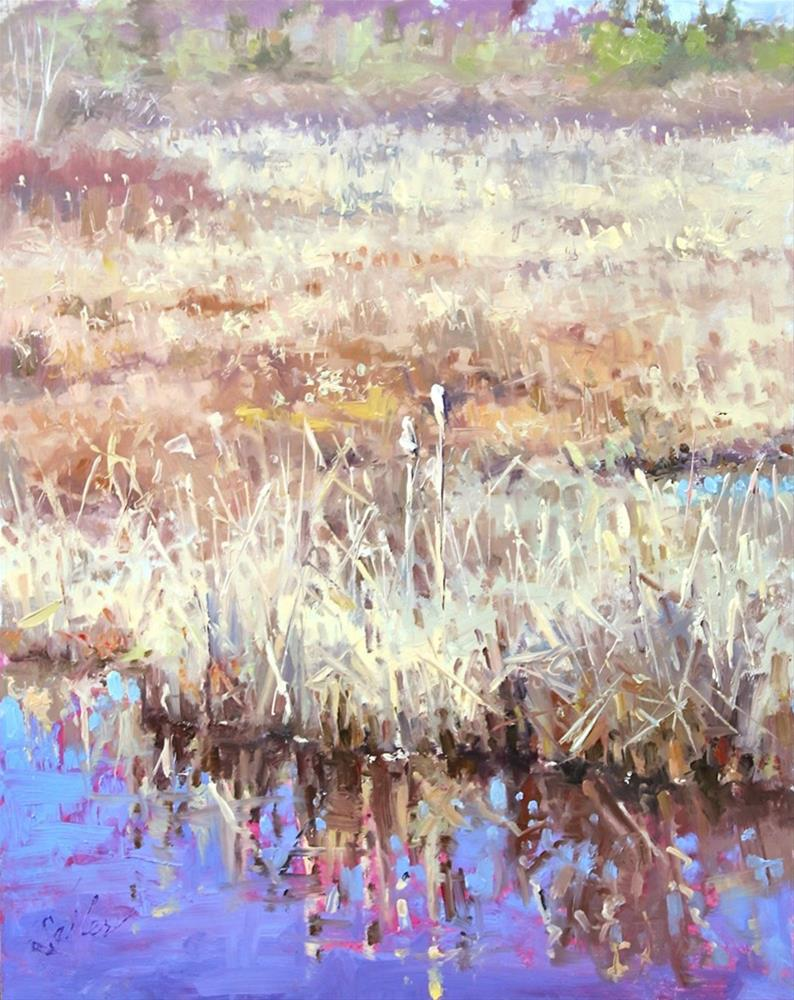 """Old Reeds...New Day"" original fine art by Larry Seiler"