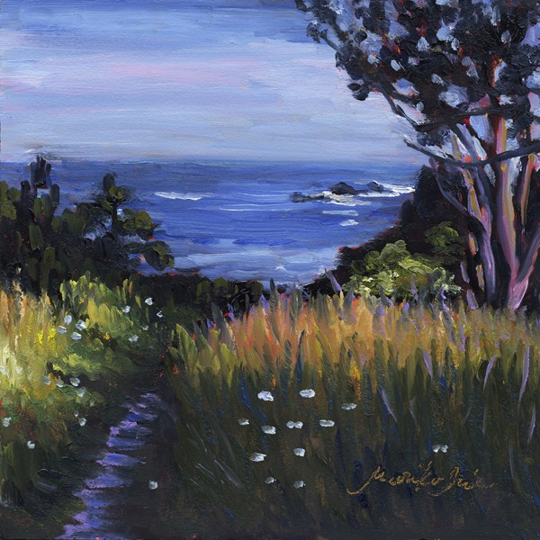 """Trail to the Beach"" original fine art by Mariko Irie"